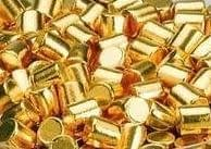 Gold evaporation material, purity: 99,99 %
