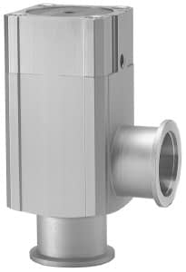 Pneumatic operated bellow sealed angle valve, Aluminum body double acting, DN160ISO-K