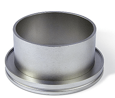 Half nipple short DN160ISO, height 30mm, tube OD=159mm, stainless steel 316L