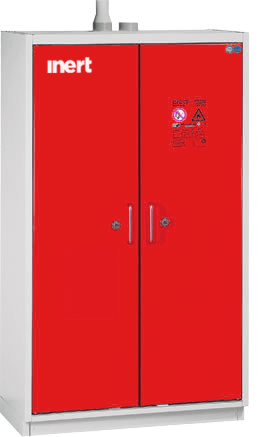 90 minutes fire safety cabinet for 3 solvent systems acc. Norm EN-14470-1