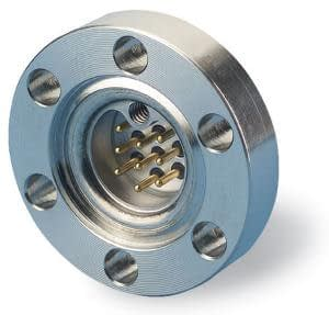C-type subminiature feedthrough one-9-pin on DN40CF flange