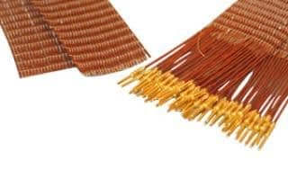 50-wire ribbon cable 100cm long, one side male pins