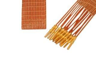 15-wire ribbon cable 100cm long, one side female pins
