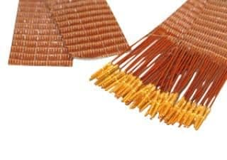 50-wire ribbon cable 100cm long, one side female pins