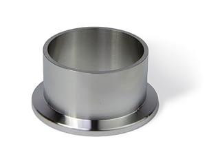 Half nipple short DN40KF, height 30mm, tube OD=44,5mm, stainless steel 316