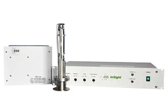 Residual gas mass spectrometer with mass range 0-200 amu, dual detector (Faraday and Multiplier)