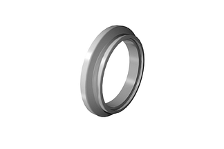 Bored tapered style ISO flange for 711mm tube DN700