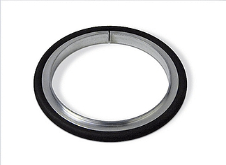 Centering ring Aluminum Silicone, DN200ISO