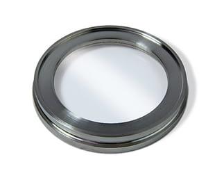 Zero length viewport 7056 glass, DN160ISO