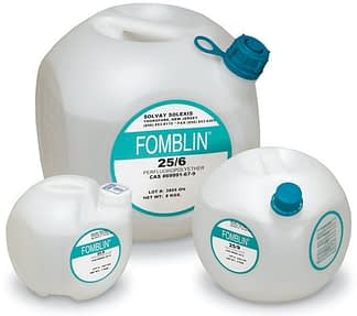 Fomblin oil for mechanical vacuum pump 3.10 E-6 Torr
