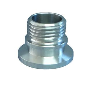 KF to male screw thread, DN40KF to 1.1/2