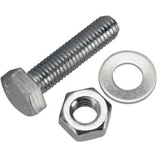 Bolts and nuts for double-sided flanges DN19CF