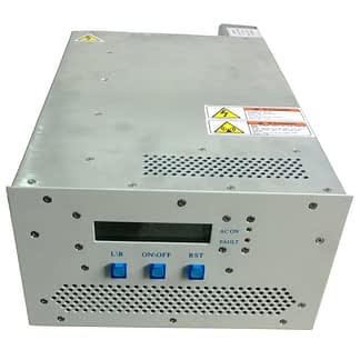 100 Watt RF power supply 13,56 MHz including manual matching network