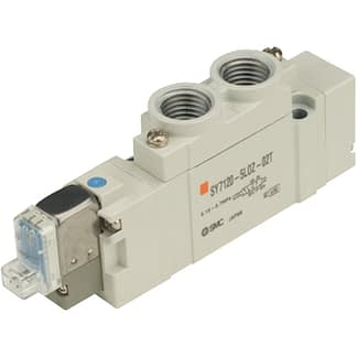 Solenoid valve 230VAC for SMC pneumatic operated vacuum valve