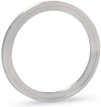 Silver plated annealed Copper gasket (ID 38,8mm; OD 48,1mm), DN40CF