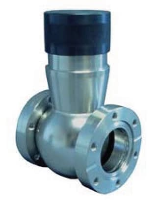 Manual operated, bellow sealed body, in-line valve, DN40CF