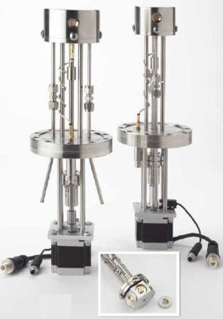 Multi Crystal sensor holder for 6 Crystals including motor and flange