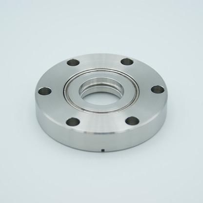 Magnesium Fluoride viewport 157 Grade Vacuum Optic 0.90